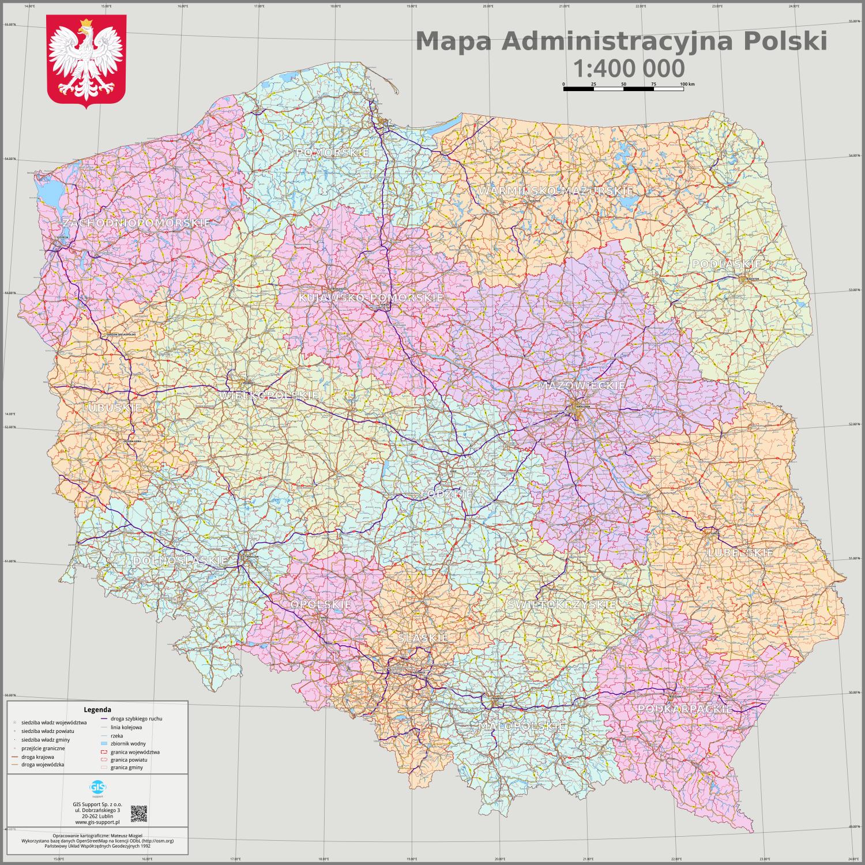Gis Support 187 Dedykowane Mapy I Wizualizacje Kartograficzne