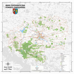 Mapa przeglądowa powiatu